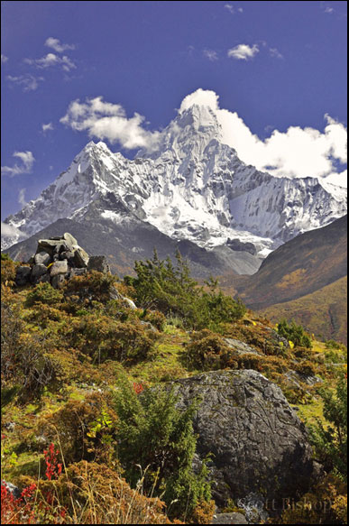 An Autumn Ama Dablam